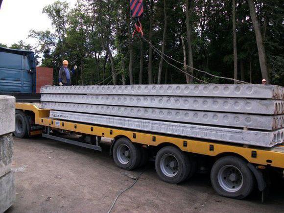 Организация перевозок ЖБИ изделий