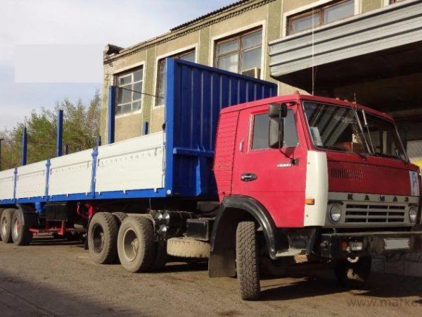 Организация перевозок Бортовым Камазом